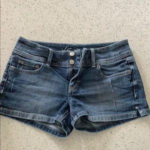 Victoria secret hipster Jean shorts